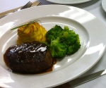 Beef Tenderloin with Bordelaise Sauce