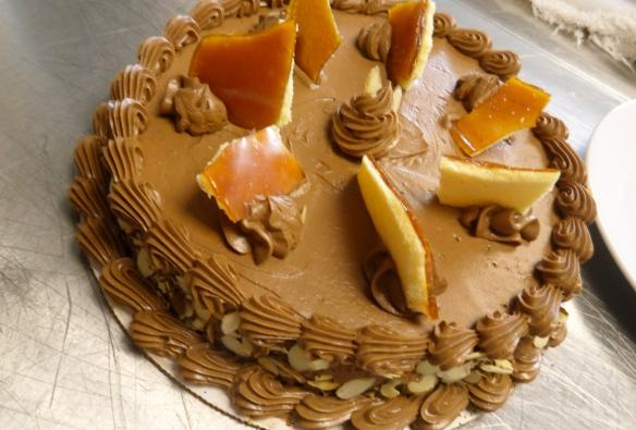 Triple Chocolate Cake Brunson S